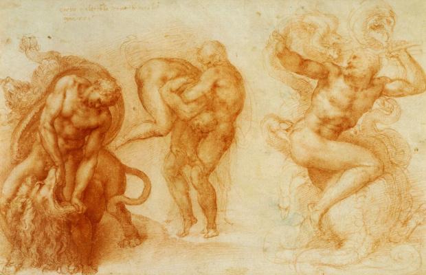 Three feats of Hercules. Etude