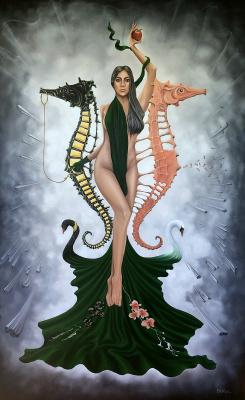 Beklan Kizilcay. Self Created Woman