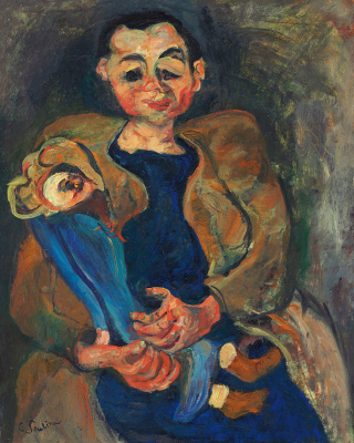 Хаим Соломонович Сутин. Женщина с куклой
