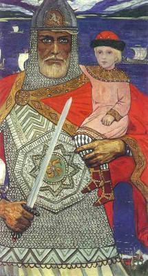 Илья Сергеевич Глазунов. Князь Олег и Игорь.1973