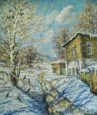 Victor Vladimirovich Kuryanov. Messengers of spring