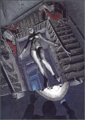 Патрик Аррасмит. Лестница