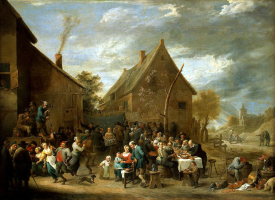David Teniers the Younger. Peasant Wedding