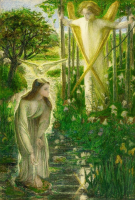 Annunciation (virgin by the brook)