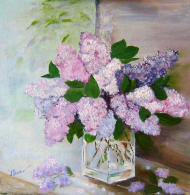 Любовь Викторовна Волобаева. A bouquet of lilac