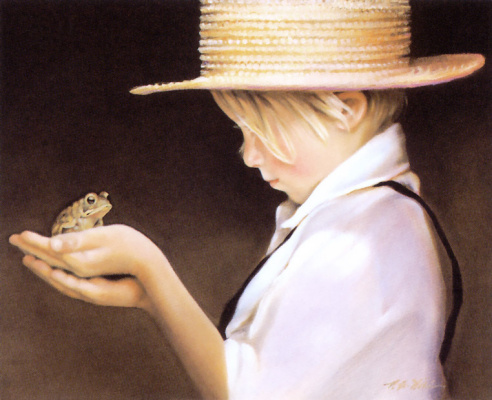Nancy Noel. Ian and the frog