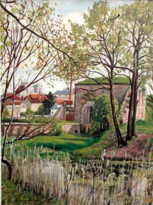Suzanne Valadon. Landscape