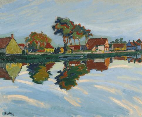 Auguste Erben. Landscape