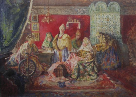 Иван Семенович Куликов. В боярском тереме. 1906-1907
