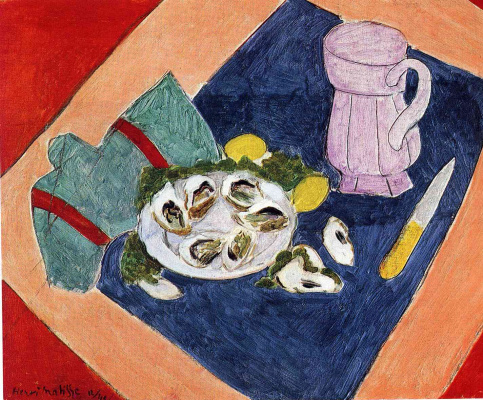 Henri Matisse. Still life with oysters