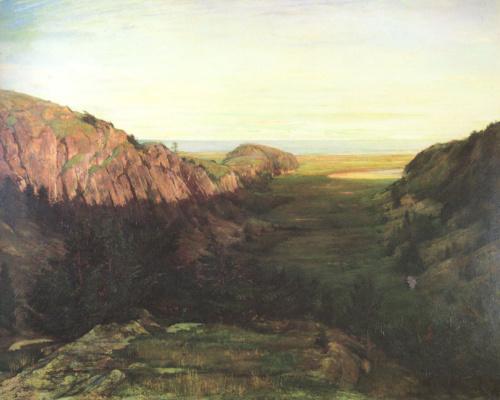 Джон Лафарг. Долина