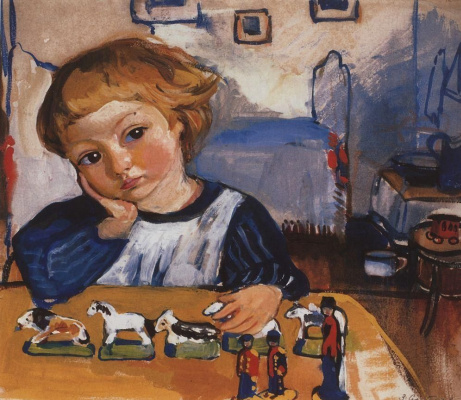 Zinaida Yevgenyevna Serebriakova. Portrait Of Eugene Serebryakov