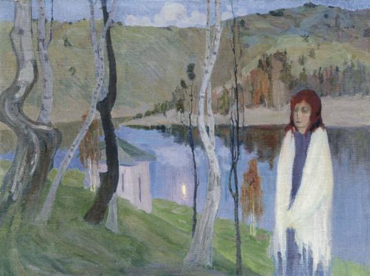 Boris Izrailevich Anisfeld. Melancholy. 1910.