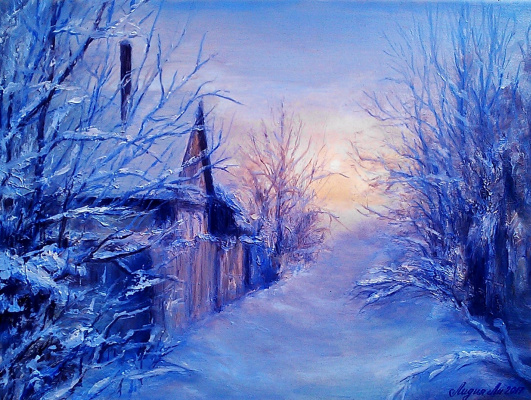 Lydia Lee. Frosty morning