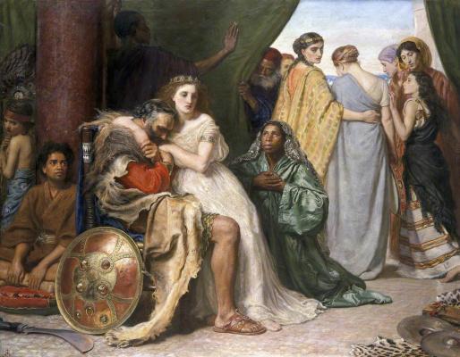 John Everett Millais. Jephthah