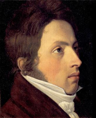 Johann Friedrich Overbeck. Portrait of the artist Yozif Sutter