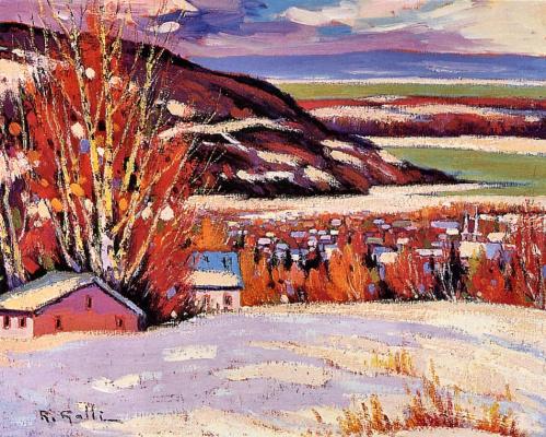 Роберт Галли. Пейзаж
