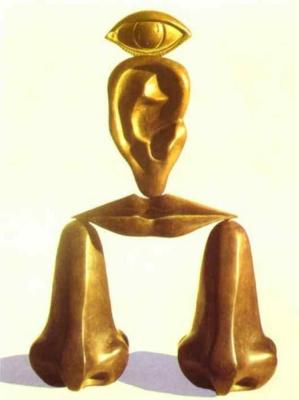 René Magritte. The white race