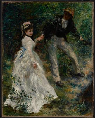 Pierre-Auguste Renoir. Walk