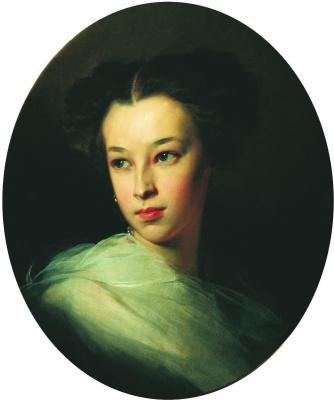 Портрет Н. А. Пушкиной. 1849