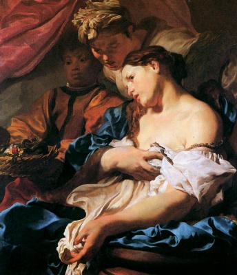 Johann Liss. The Death Of Cleopatra