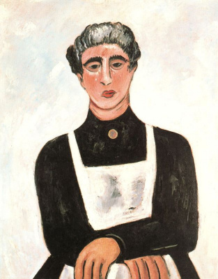 Marsden Hartley. Portrait