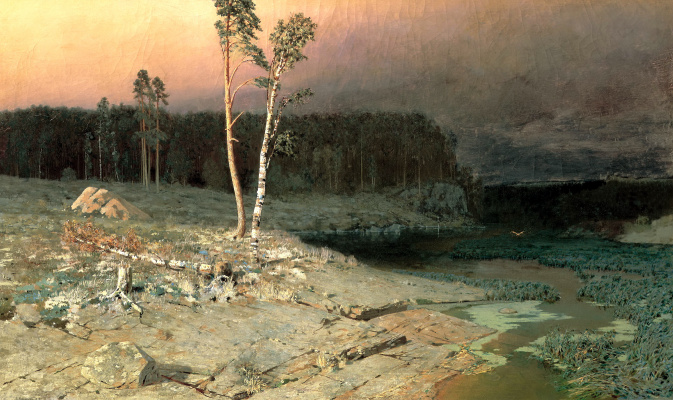 Arkhip Ivanovich Kuindzhi. On the island of Valaam