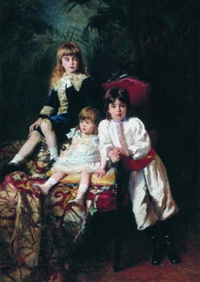 Konstantin Makovsky. The children of Mr. Balashov