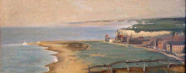 Eva Gonzalez. Dieppe Beach View From The Cliff West