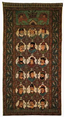 """Niko Pirosmani (Pirosmanashvili). Carpet-""""kalamkar"""""""