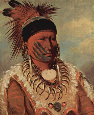 George Kathleen. White Cloud, chief of the tribe in Iowa