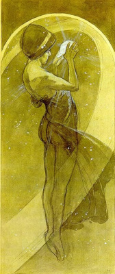 Alfons Mucha. North star