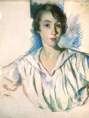 Zinaida Serebryakova. Portrait Of A. S. Nothaft