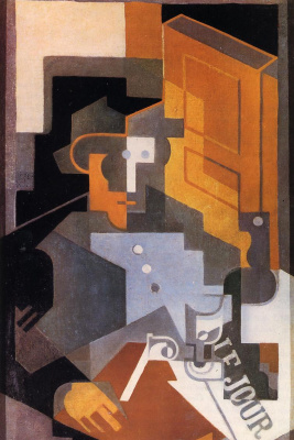 Juan Gris. Man from Touraine