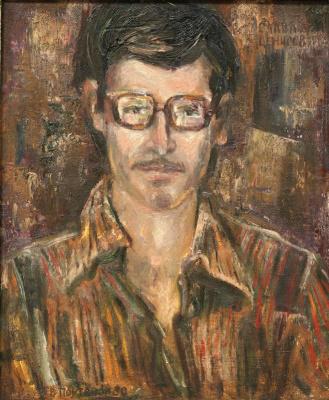 Vladimir Ilyich Portyanoy. Portrait of Slava Denisov