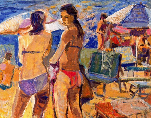 Миро Маиноу. На пляже