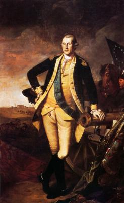Чарльз Уилсон Пил. Джордж Вашингтон в Принстоне