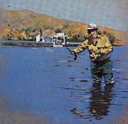 Гари Дэвис. Рыбалка