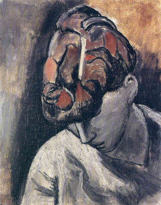 Pablo Picasso. A woman with her head bowed