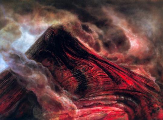 Hans Rudolph Giger. Magma