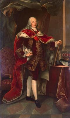 Мигел Антониу ду Амарал. Portrait of Jose Manuel, King of Portugal
