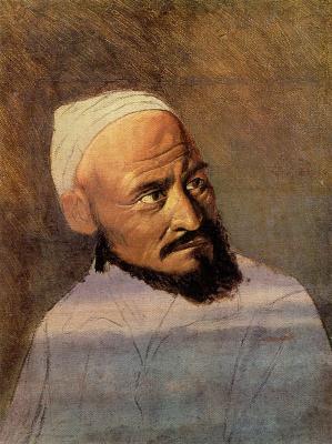 Василий Григорьевич Перов. Голова киргиза. Этюд