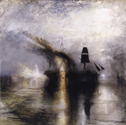Michael Turner. Storm on the sea