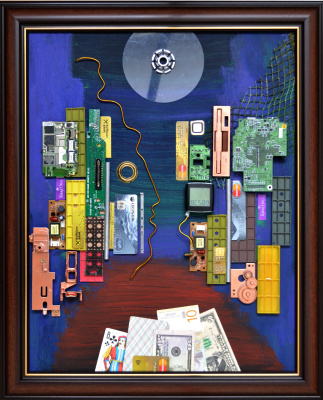 Mikhail Dmitrievich Mantulin. City money