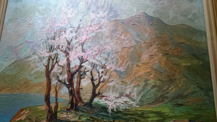Rybin. Spring in the mountains