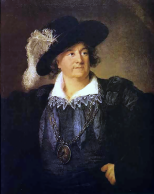 Элизабет Виже-Лебрен. Портрет польского короля Станислава II Августа (Понятовского)