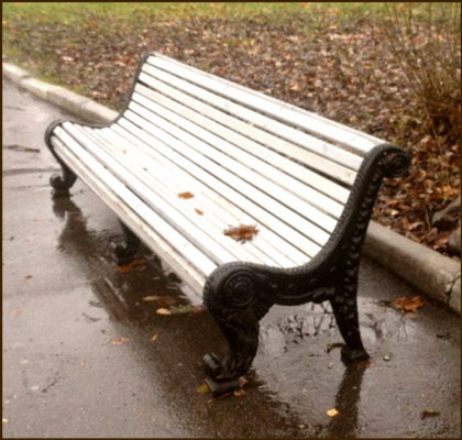 Садово-парковая скамейка