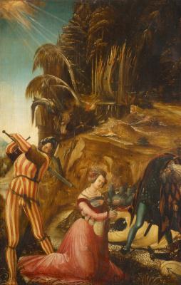 Albrecht Altdorfer. The Beheading of St Catherine