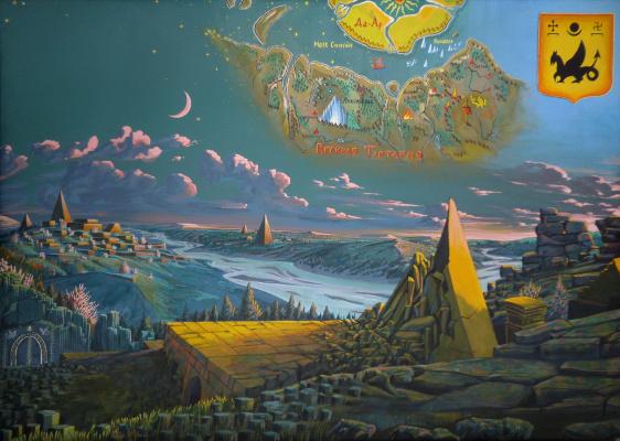 Ilya Gennadievich Borisov. The Lost World (cover for Tart-Aria.info)