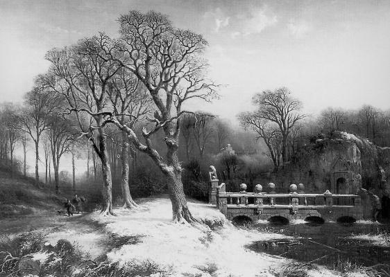Парк замка Химстед
